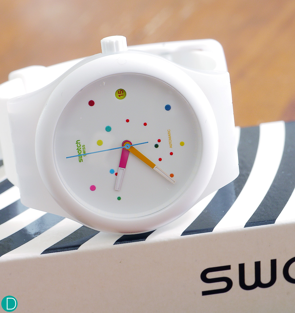 Swatch Sistem 51 in white, the one which got away.