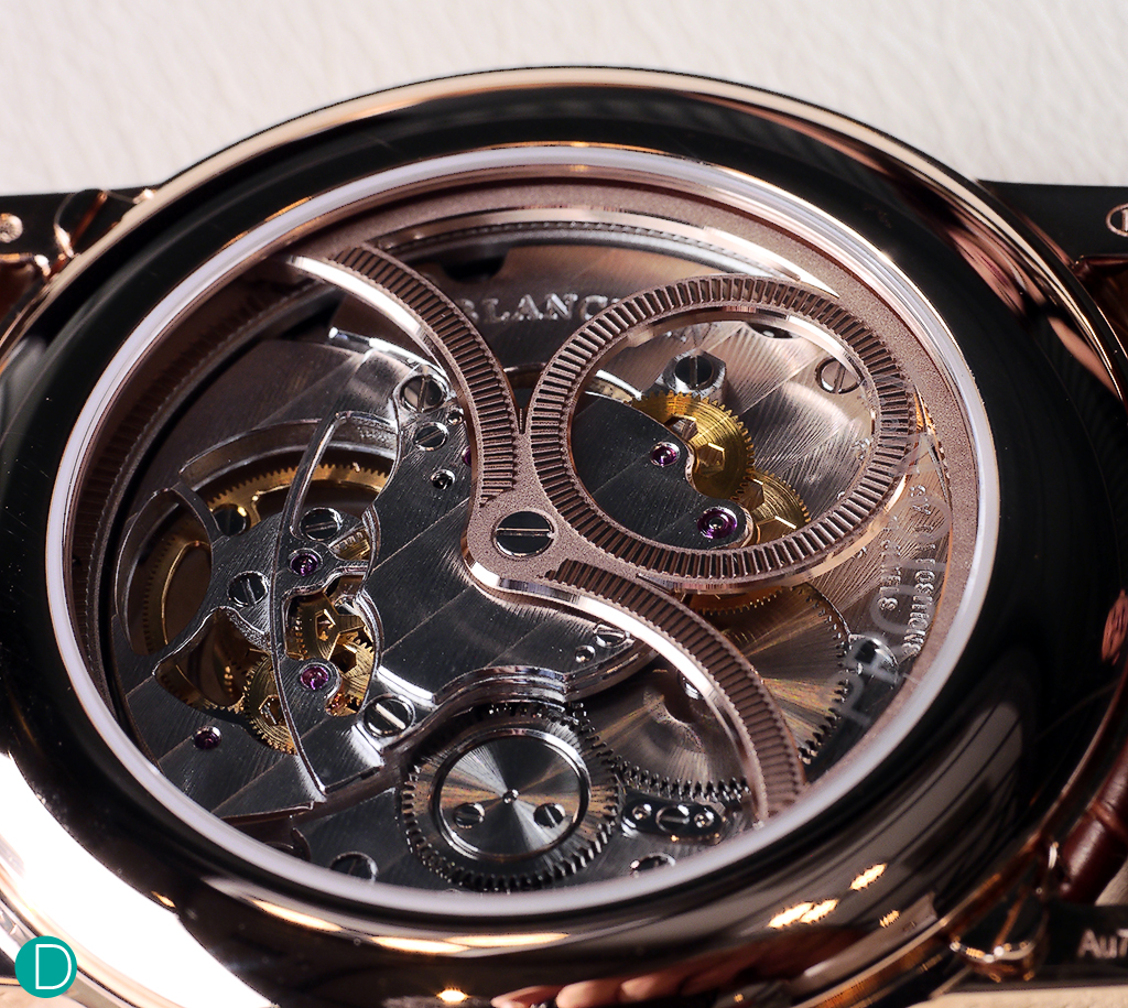 The Blancpain caliber 225L, carrousel with moonphase