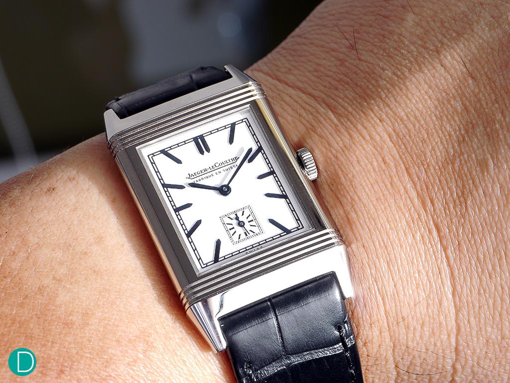 JLC Grand Reverso Ultra Thin 1948 on my wrist.