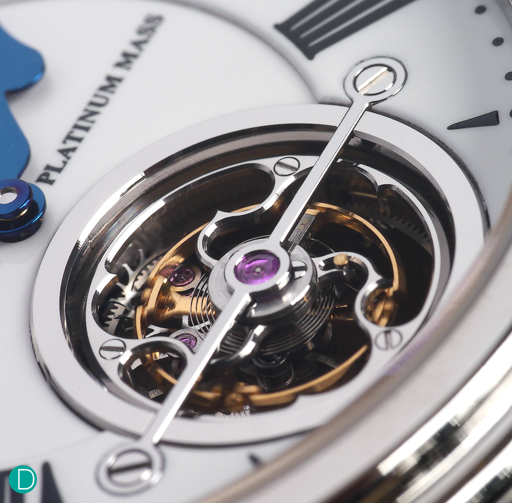 The star of the Magister: the Tourbillon.