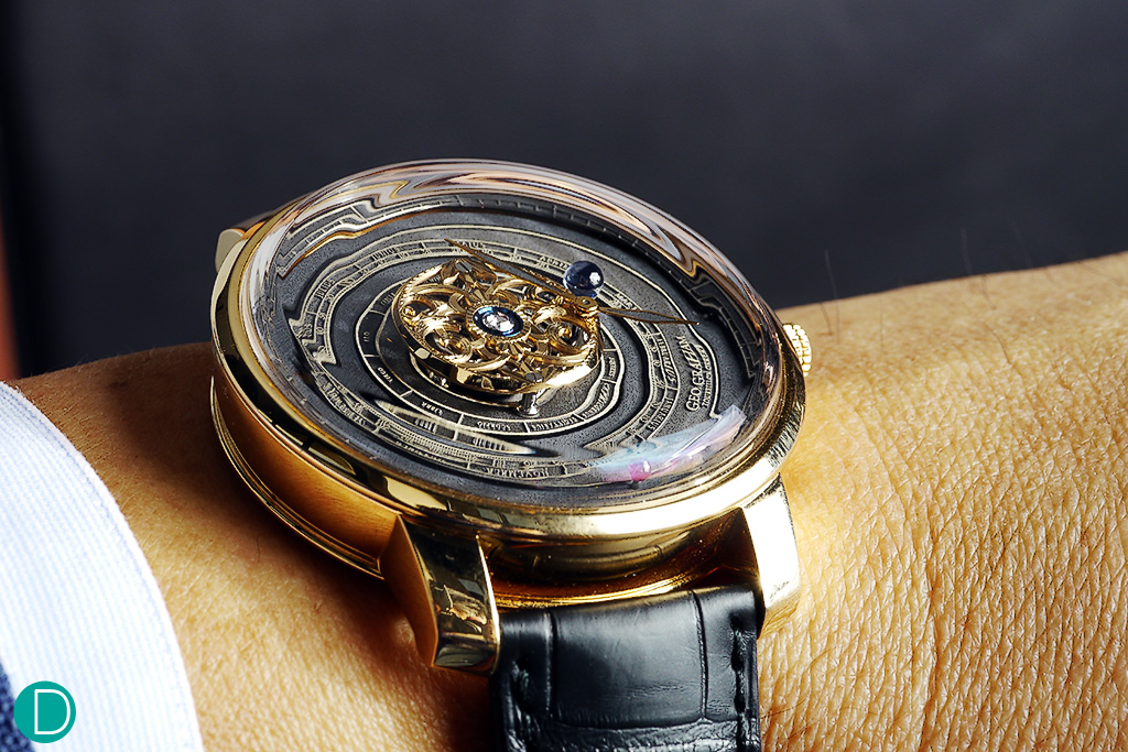 planets rotating wrist watch - photo #19