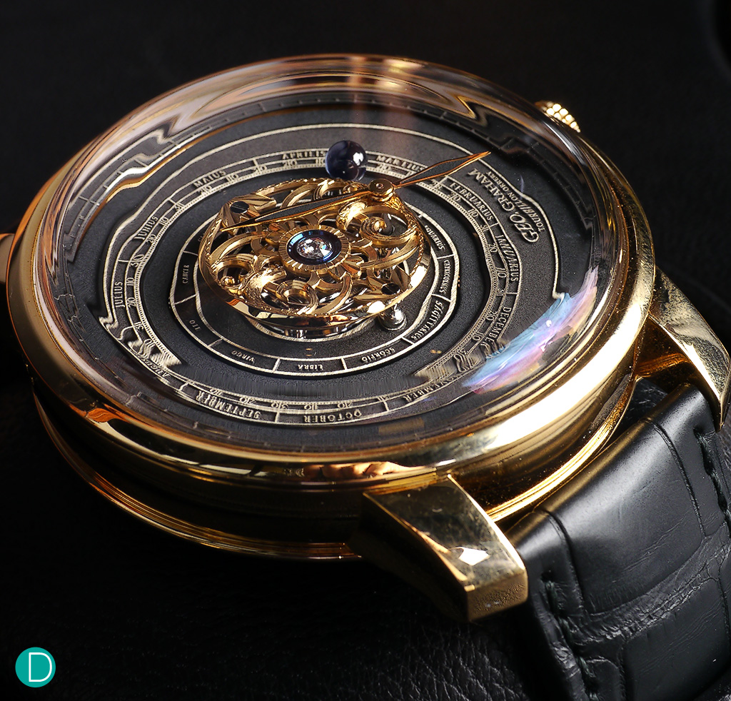 The Graham Tourbillon Orrery. One of Graham's finest offerings to date.