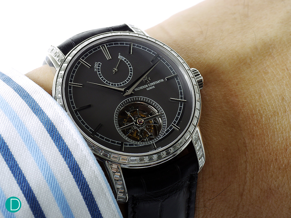 The Tourbillon on the wrist.