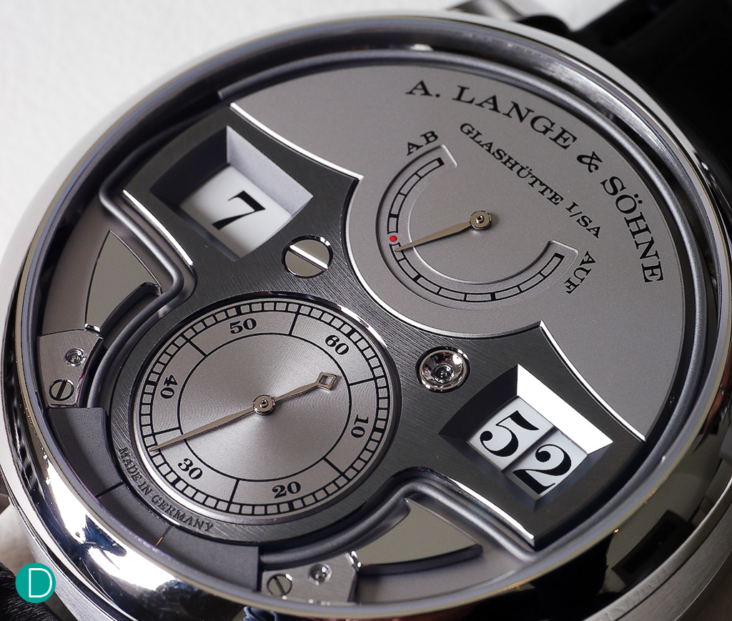 The Lange Zietwerk Minute Repeater Ref 147.025F