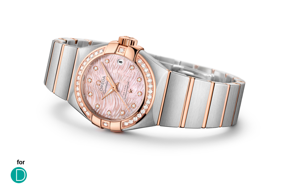"The updated version of the Omega Constellation ""Pluma""."