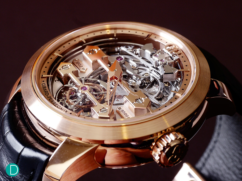 Girard Perregaux Minute Repeater Tourbillon with Gold Bridges ref 99820