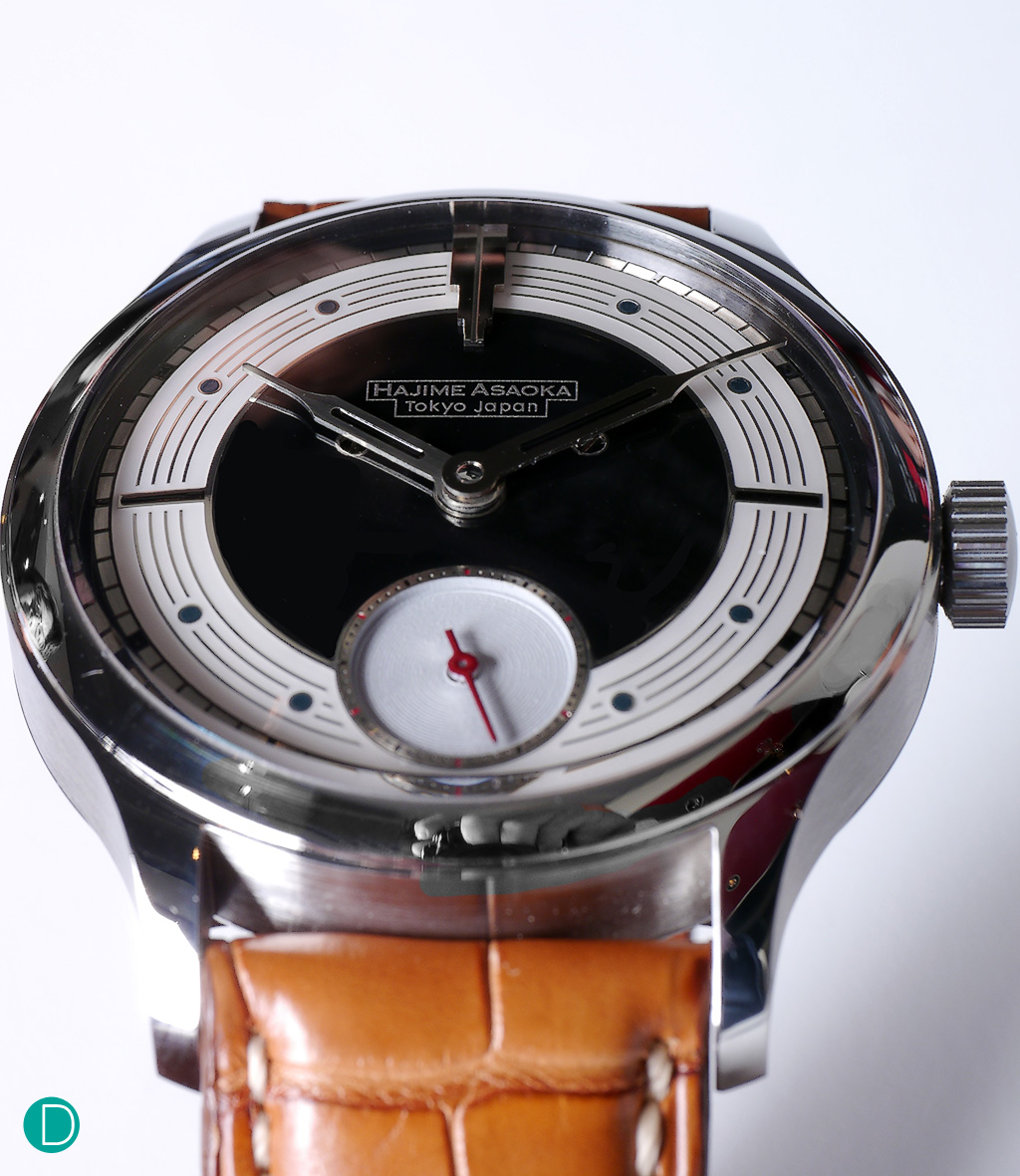 Hajime Asaoka Project Tsunami. Precious little information is available on this watch.