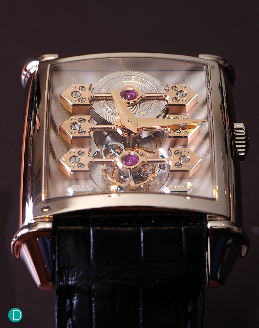 Watchscapes and Review: Girard Perregaux Vintage 1945 ...