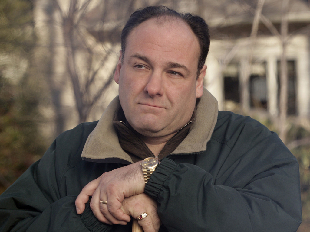 "FILE - This file photo released by HBO in 2007 shows James Gandolfini as Tony Soprano in a scene from one of the last episodes of the HBO dramatic series ""The Sopranos."" HBO and the managers for Gandolfini say the actor died Wednesday, June 19, 2013, in Italy. He was 51. (AP Photo/HBO, Craig Blankenhorn, File)"