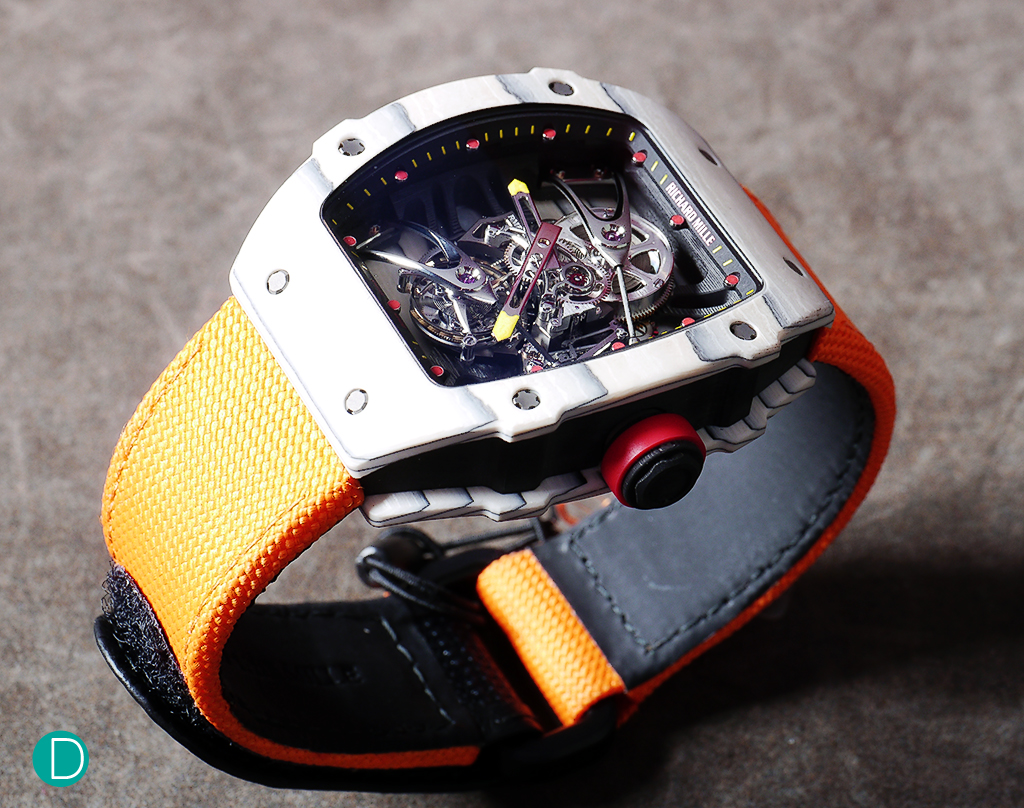 The Richard Mille RM27-02 Rafael Nadal Edition Wait, something is not quite right here...