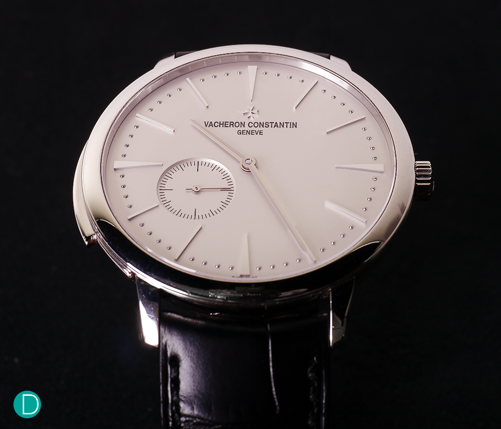 The Vacheron Constantin Patrimony Ultra-thin Minute Repeater in platinum. Classical elegance.