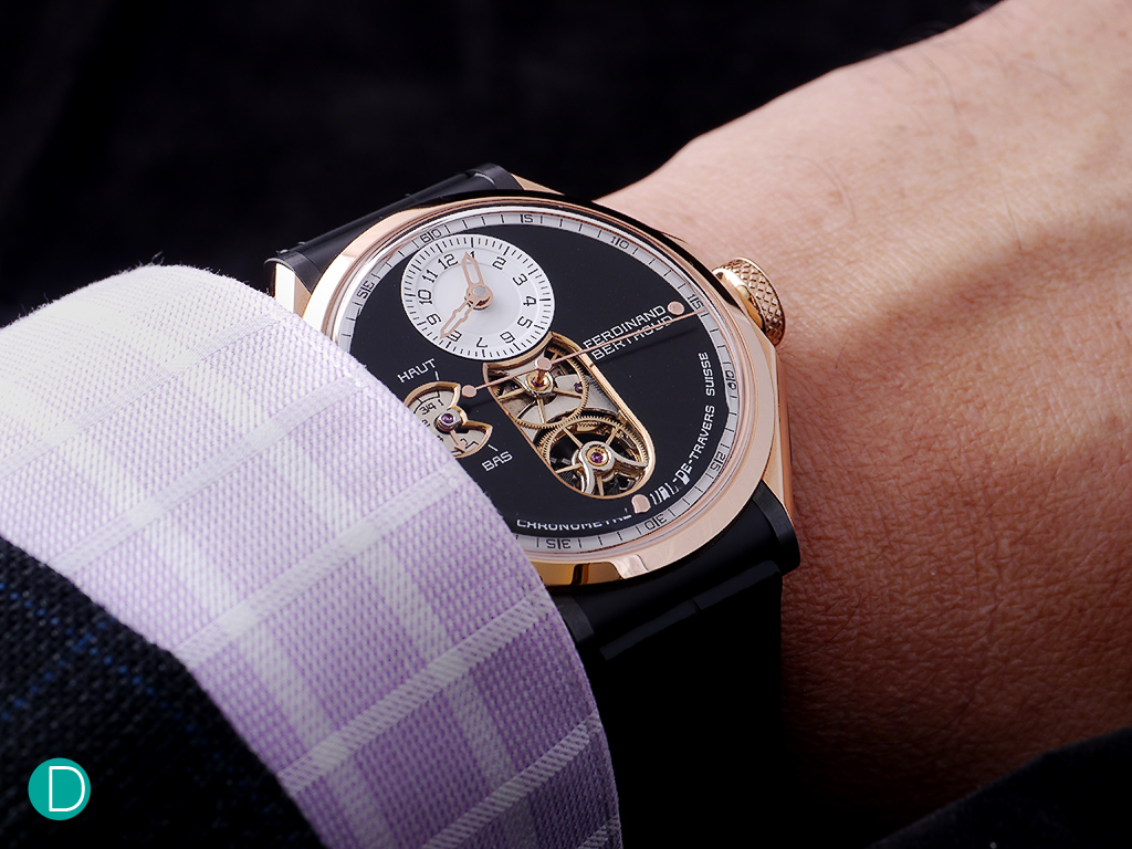 On the wrist the 44mm case sits well. The watch has a certain heft, and exudes quality.