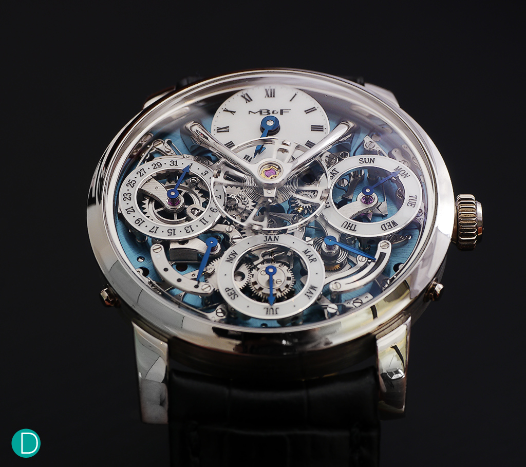 The MB&F Legacy Machine Perpetual.