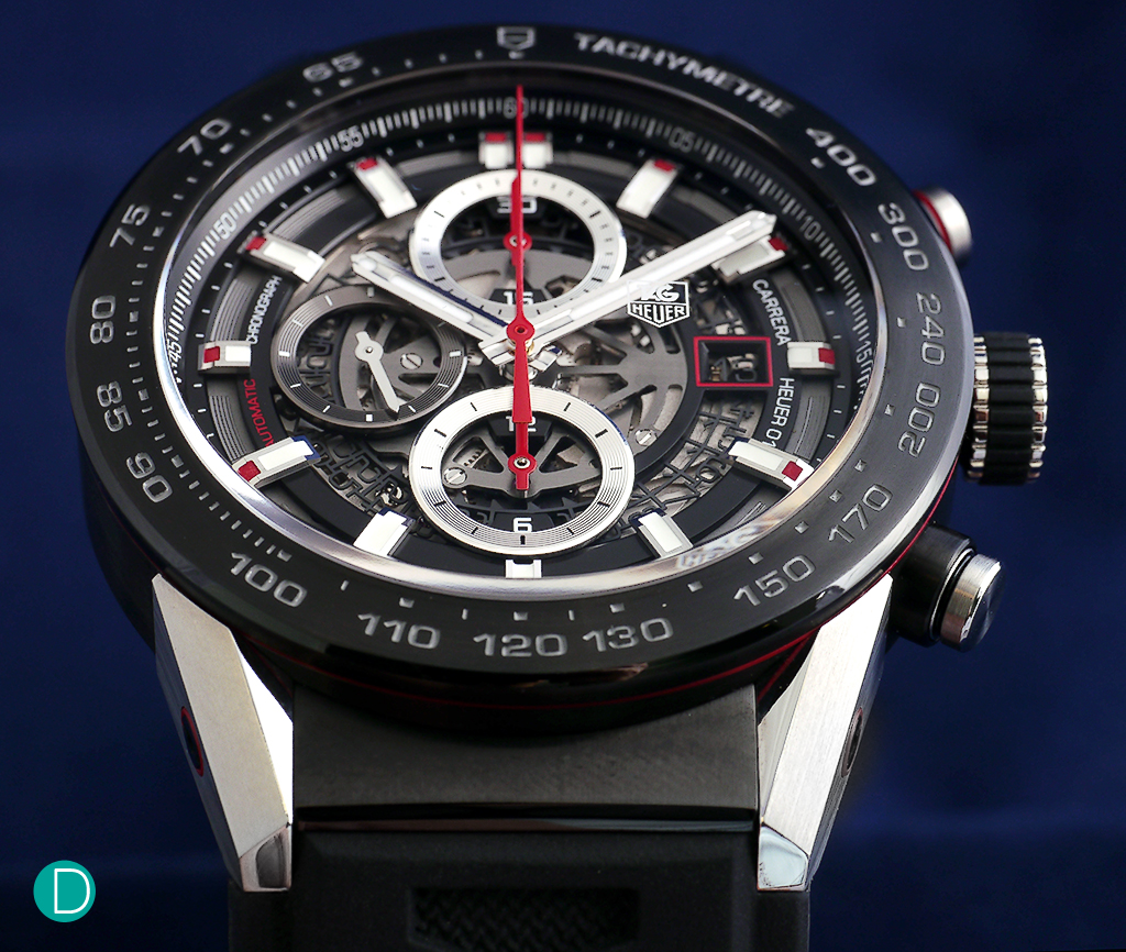 tag heuer carrera heuer 01 the first watch to be released by tag under the