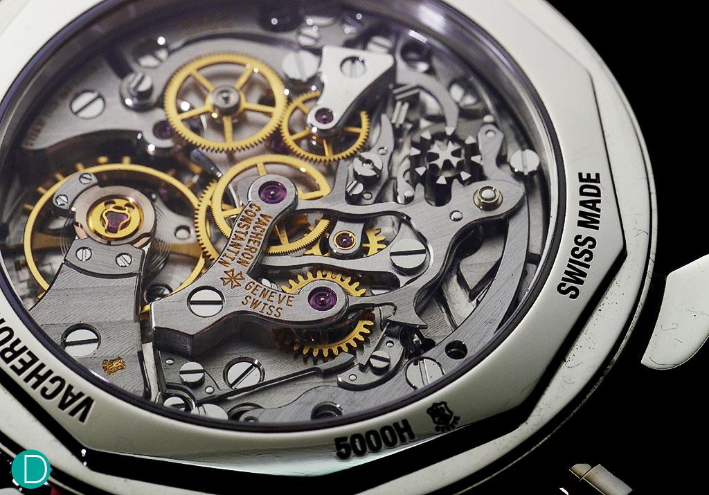 VC Caliber 1142, a beautiful column wheel chronograph movement.