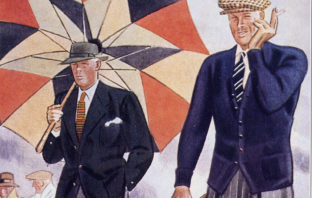Apparel Arts, a gentleman's magazine in the 1930s documenting the style and elegance of the era.