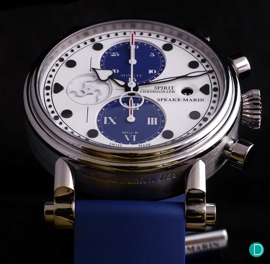The Speake-Marin Blue Spirit Seafire.