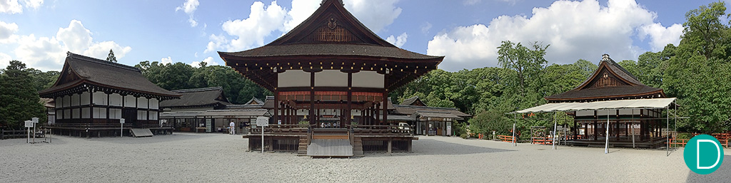 Shimogawa Shrine, one of the oldest in Japan, and listed as a World Heritage Site.