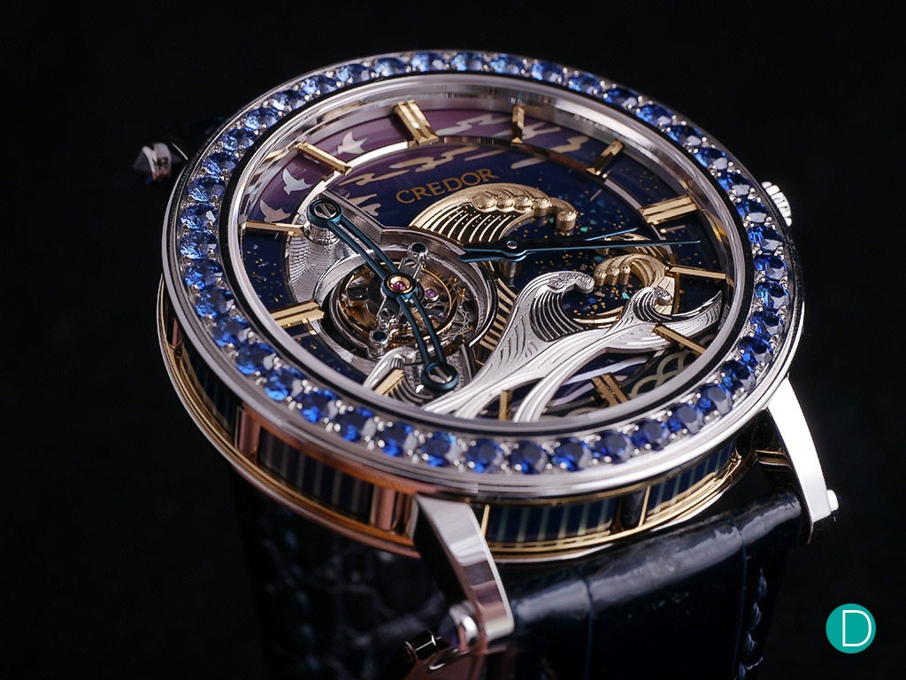 The Fugaku Tourbillon. There is no way to critique the handwork - it is just superb and divine.