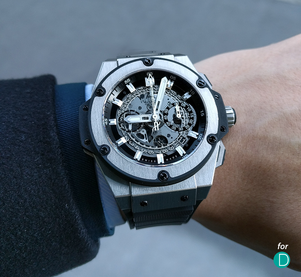 Hublot King Power Unico. Photo by Glenn Chiang.