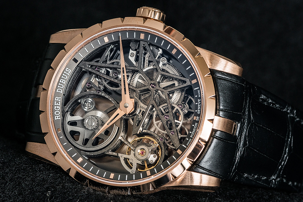 Roger Dubuis Skeleton Automatic. Photo by owner.
