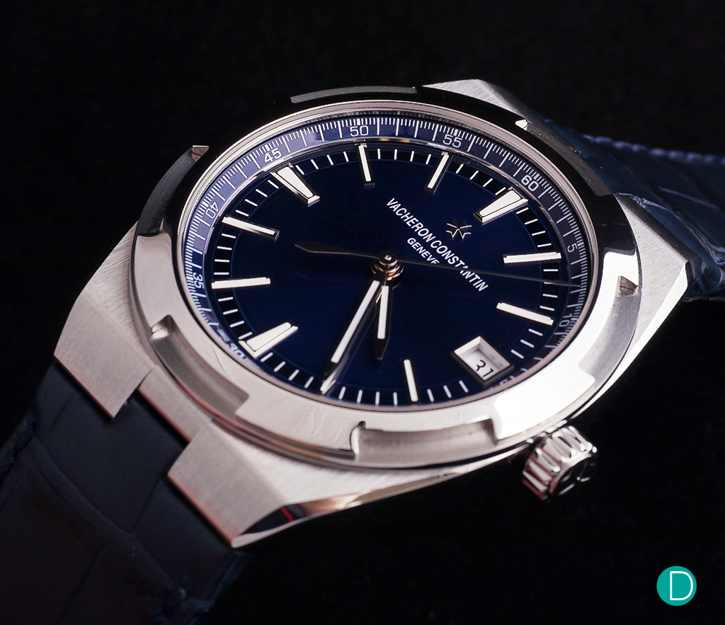 Vacheron Constantin Overseas 4700 in steel and a gorgeous blue dial. Review forthcoming.