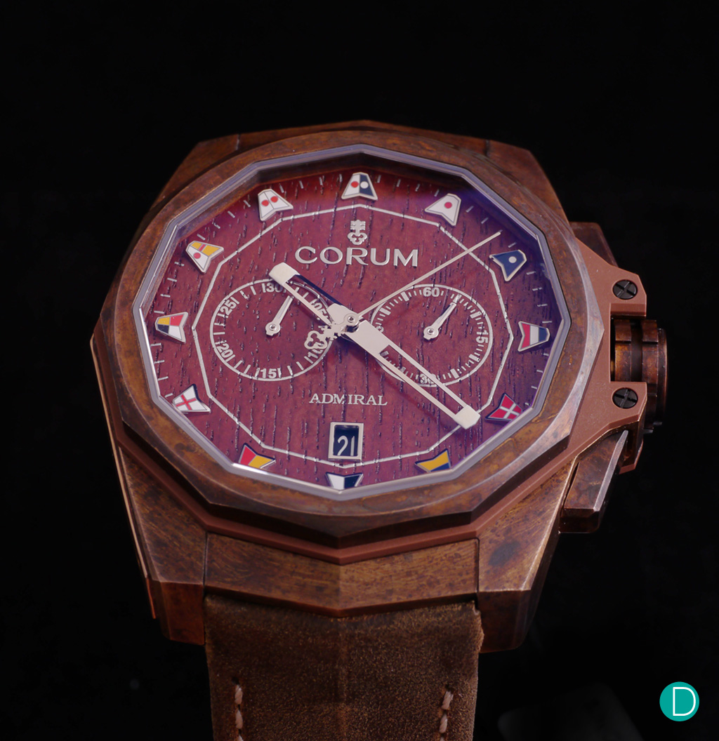 Corum Admiral AC-One in bronze