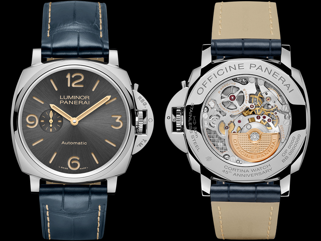 Panerai Cortina PAM751 front and back