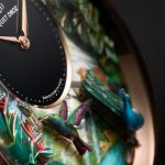 Jaquet Droz Tropical Bird Repeater dial
