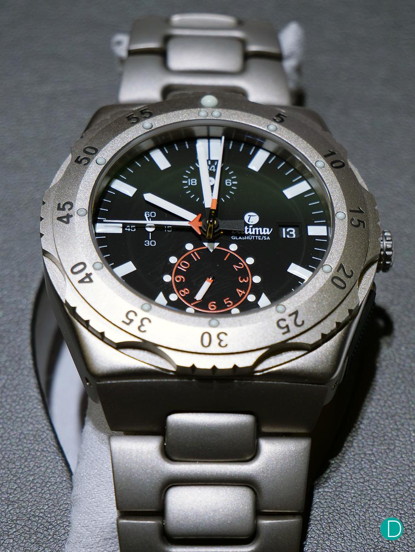 Tutima Chronograph 6450-03