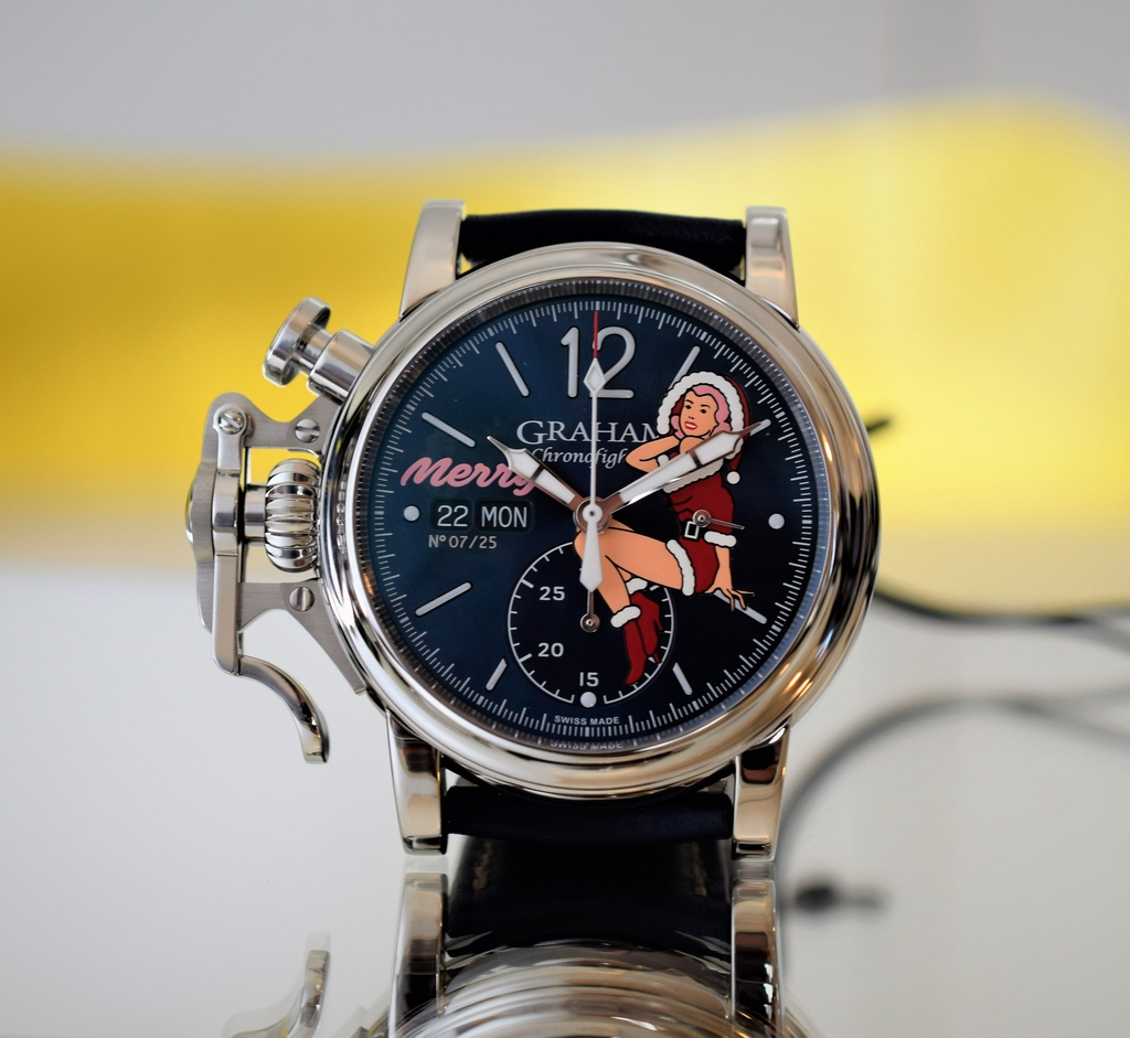 Graham Chronofighter Vintage Nose Art Ltd - Merry, Ref. 2CVAS.U06A