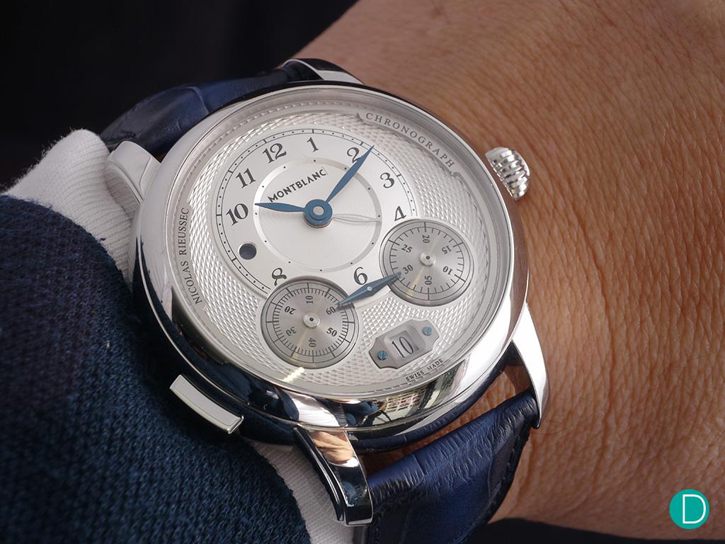 Montblanc Star Legacy Nicolas Rieussec Chronograph wrist