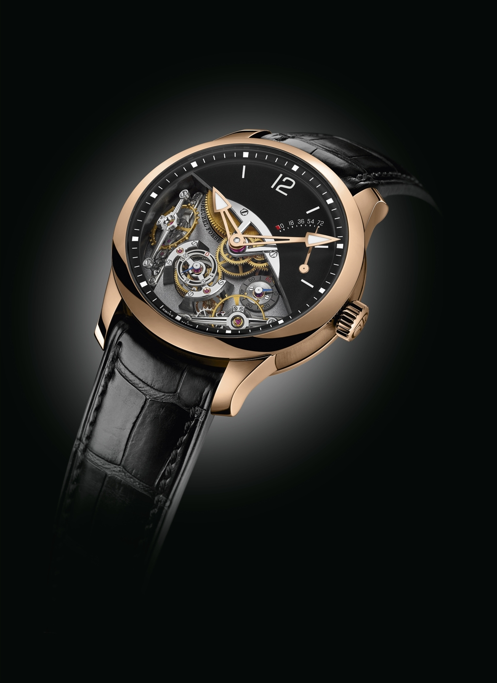 Greubel Forsey Timepieces: Double Balancier Oblique view