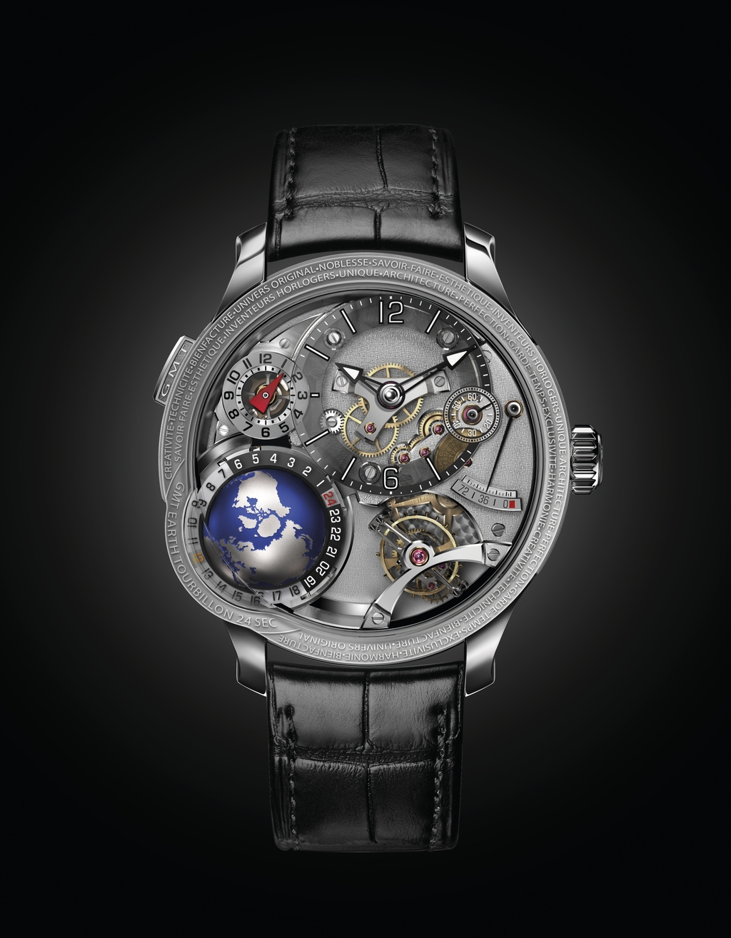 Greubel Forsey Timepieces: GMT Earth