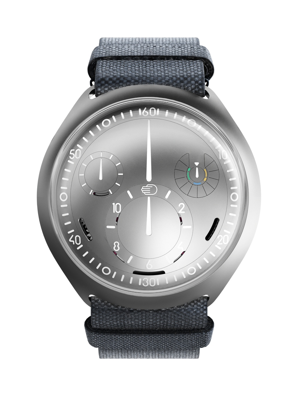 Ressence Type2 e-Crown Concept front view