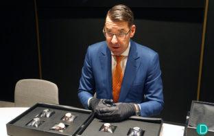Christian Selmoni presenting the Vacheron Constantin FIFTYSIX Collection