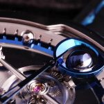 De Bethune DB28 Steel Wheels moonphase detail