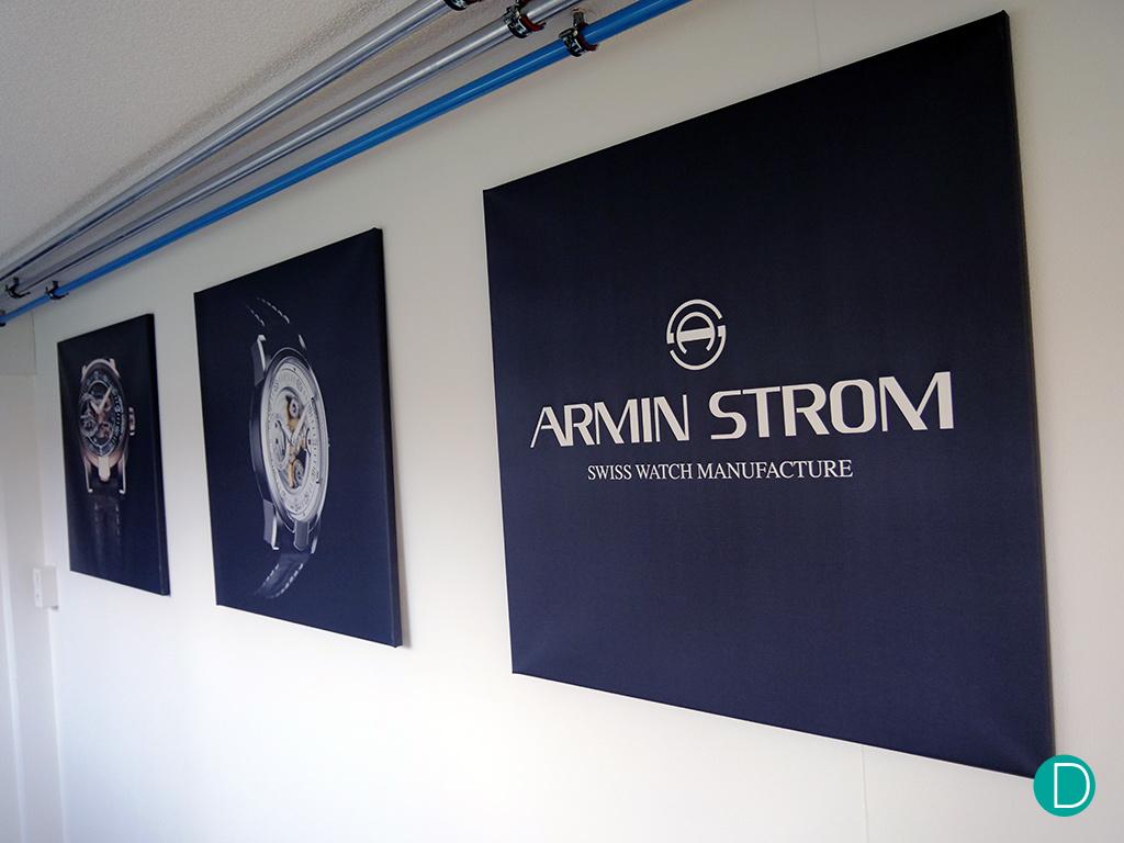 Armin Strom Manufactory visit