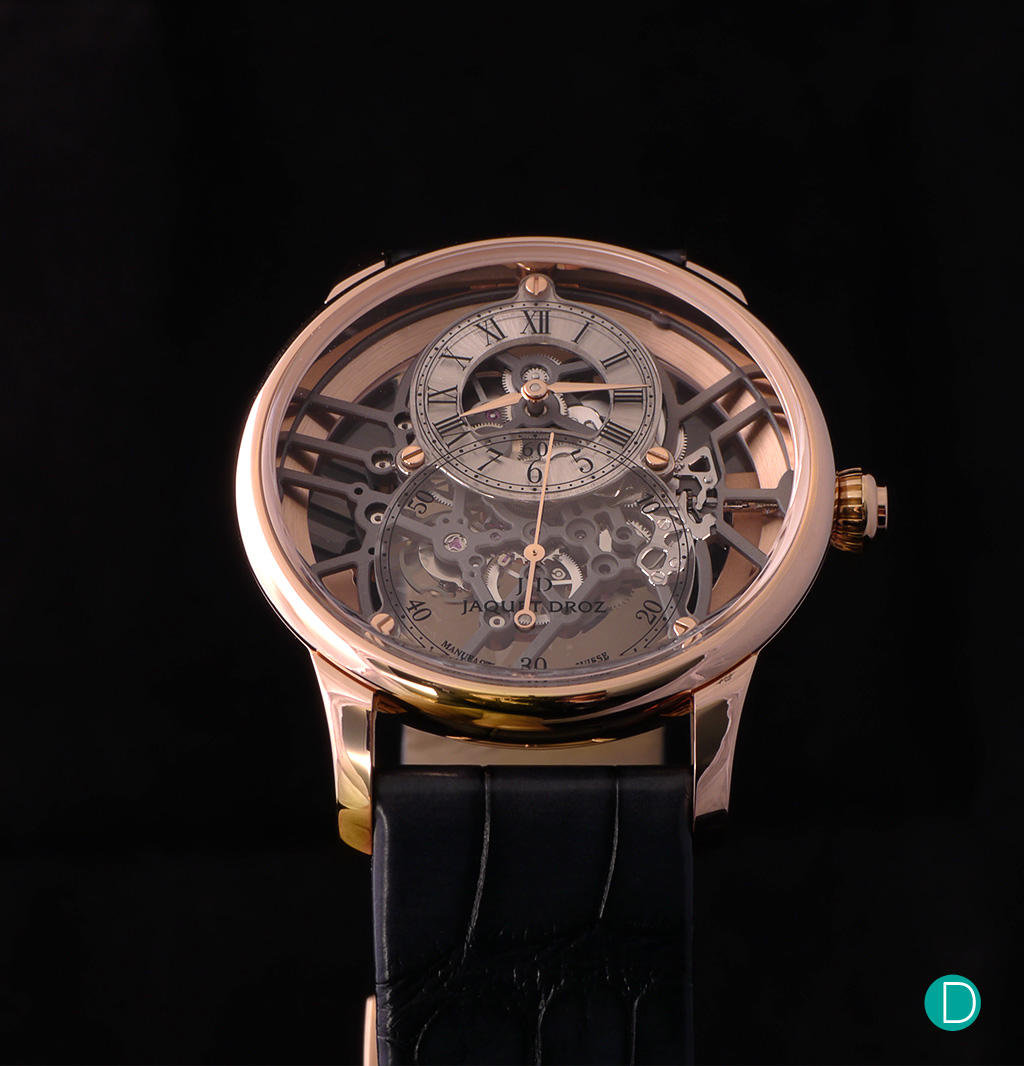 The Jaquet Droz Grande Seconde Skelet-One soldat