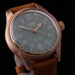 Oris Big Crown Pointer Date Bronze oblique