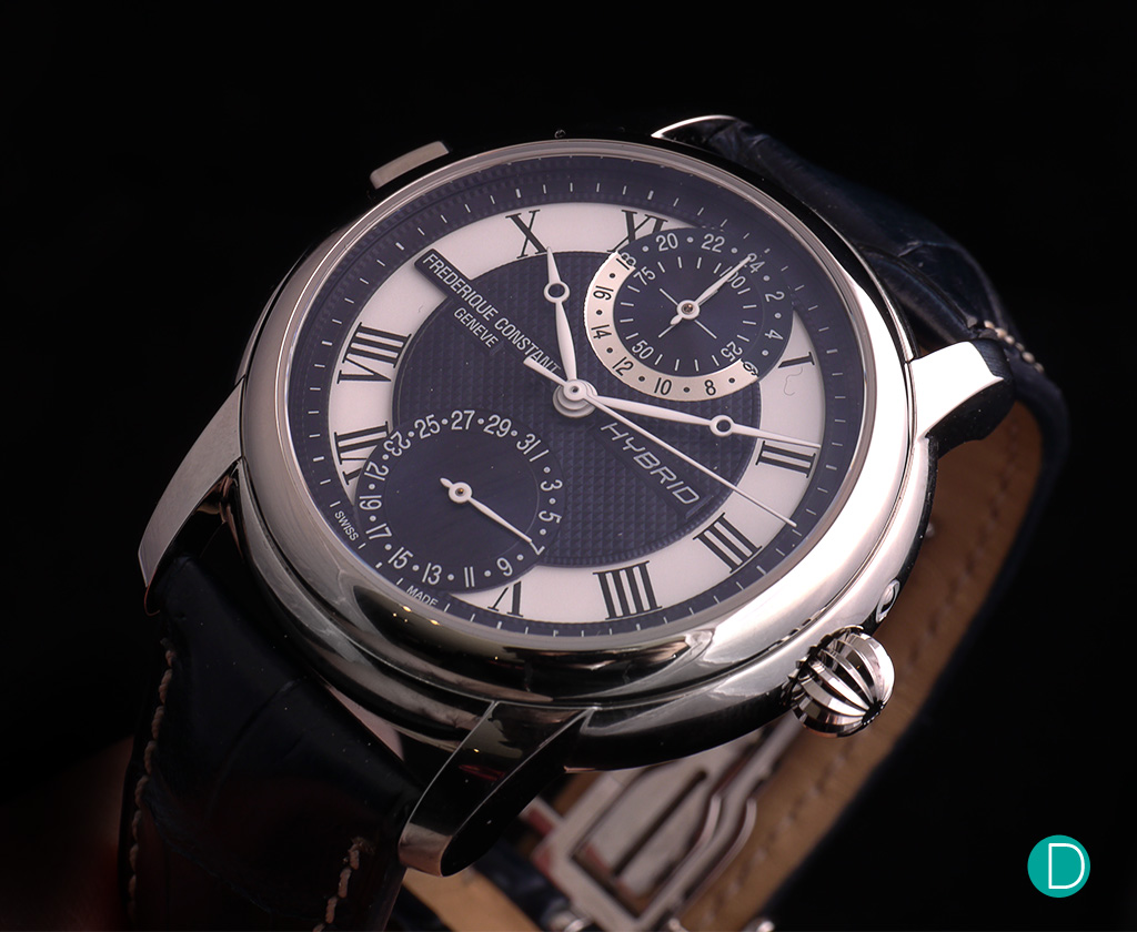 Frederique Constant Hybrid Manufacture oblique crown