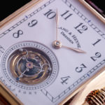 Lang & Heyne Anton Flying Tourbillon dial detail